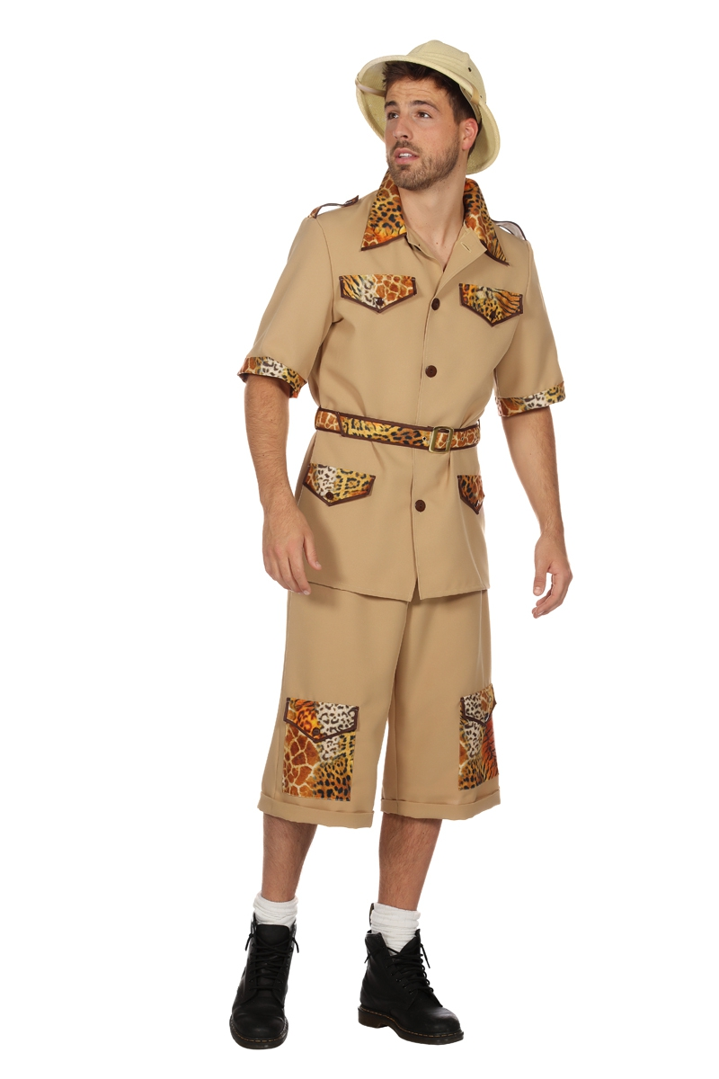 Safari kostuum voor volwassenen