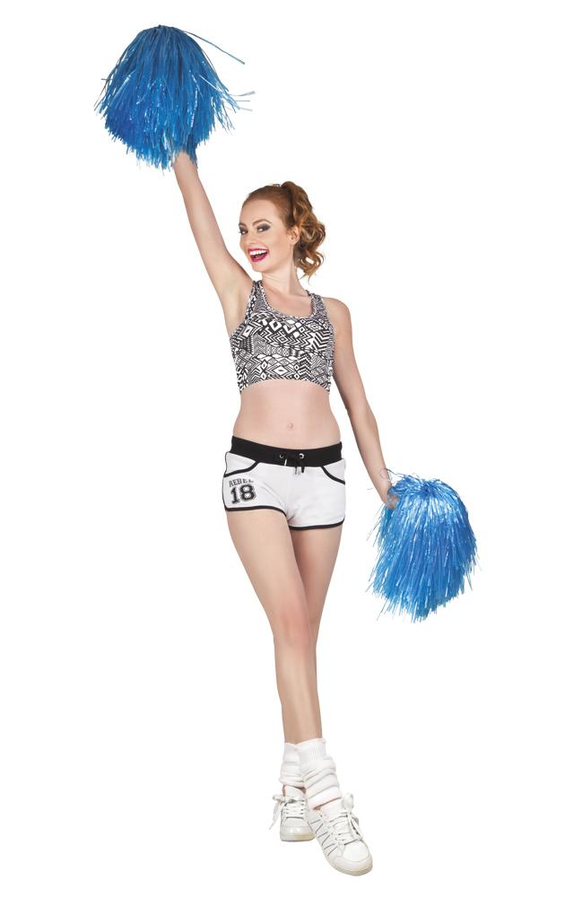 Cheerball met steel blauw