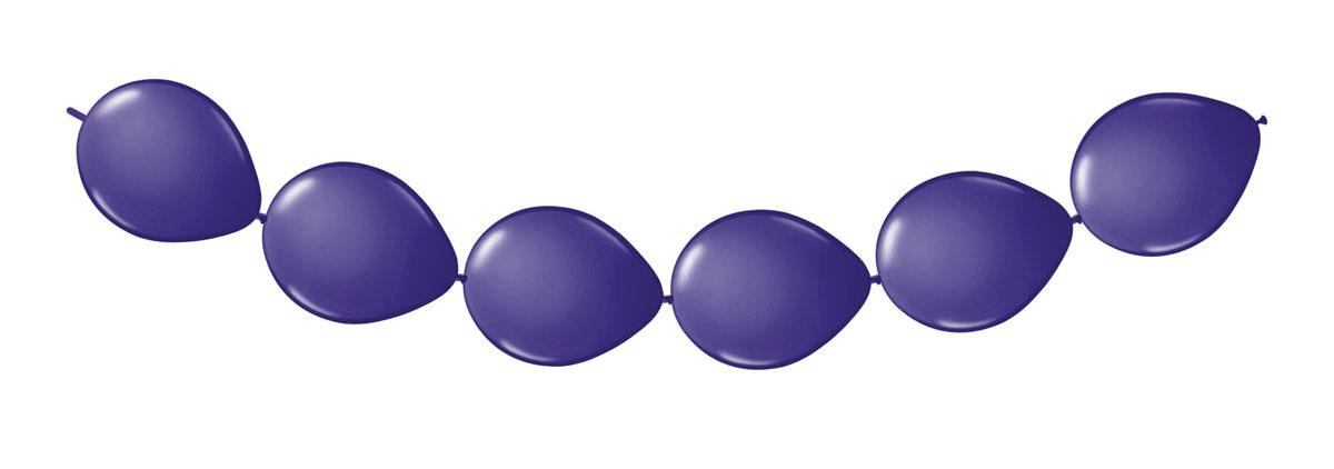 Fltx Knoopballonnen Paars 3mtr /8