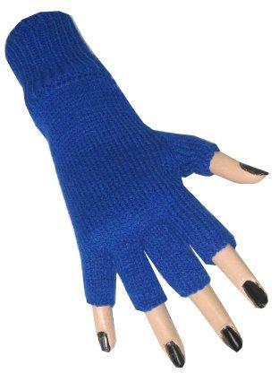 Hand schoen blauw