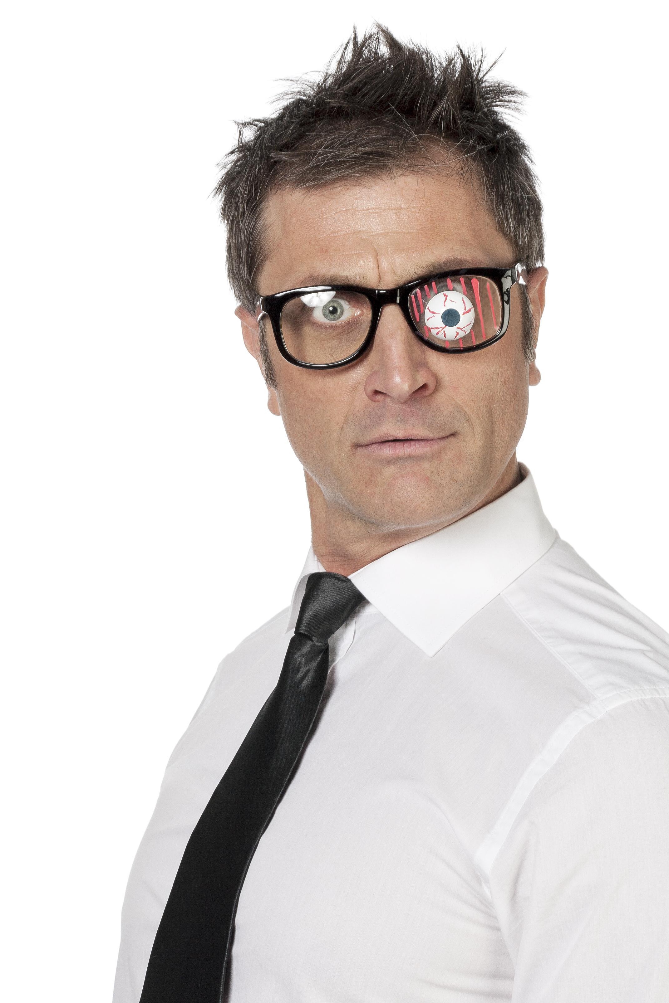 Bril met oog