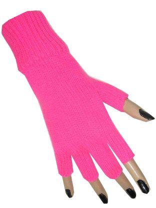 Hand schoen fluor pink