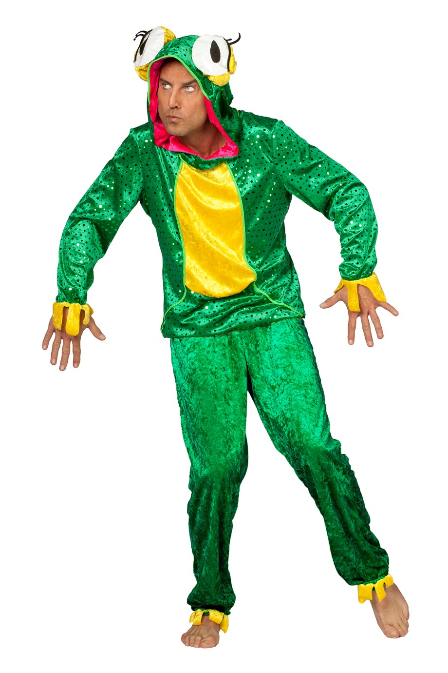 Kikker kostuum voor heer