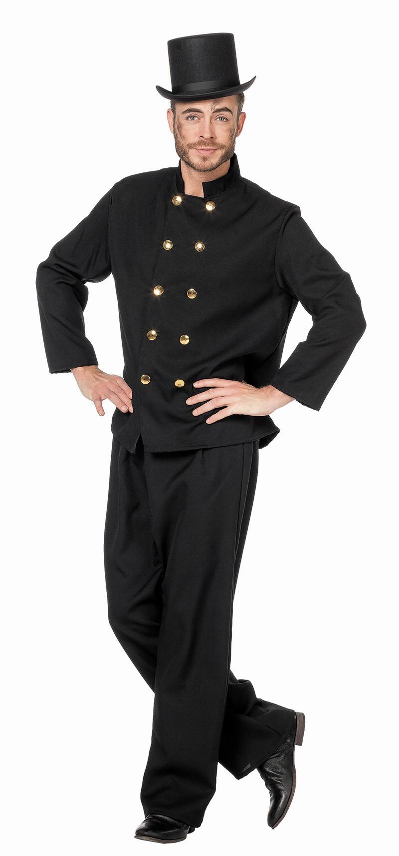 Schoorsteenveger kostuum Oliver voor heer