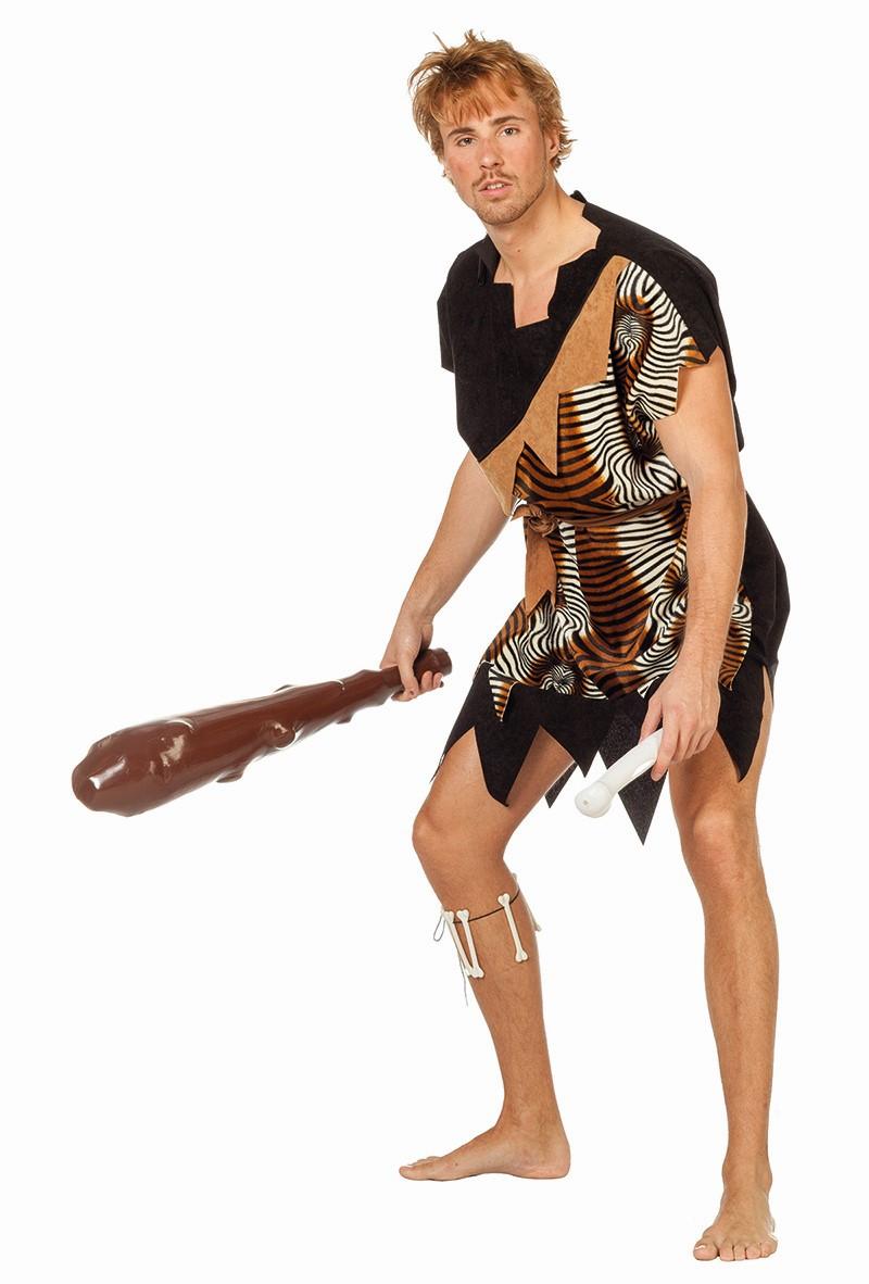 Oermens kostuum velboa Afrika voor heer