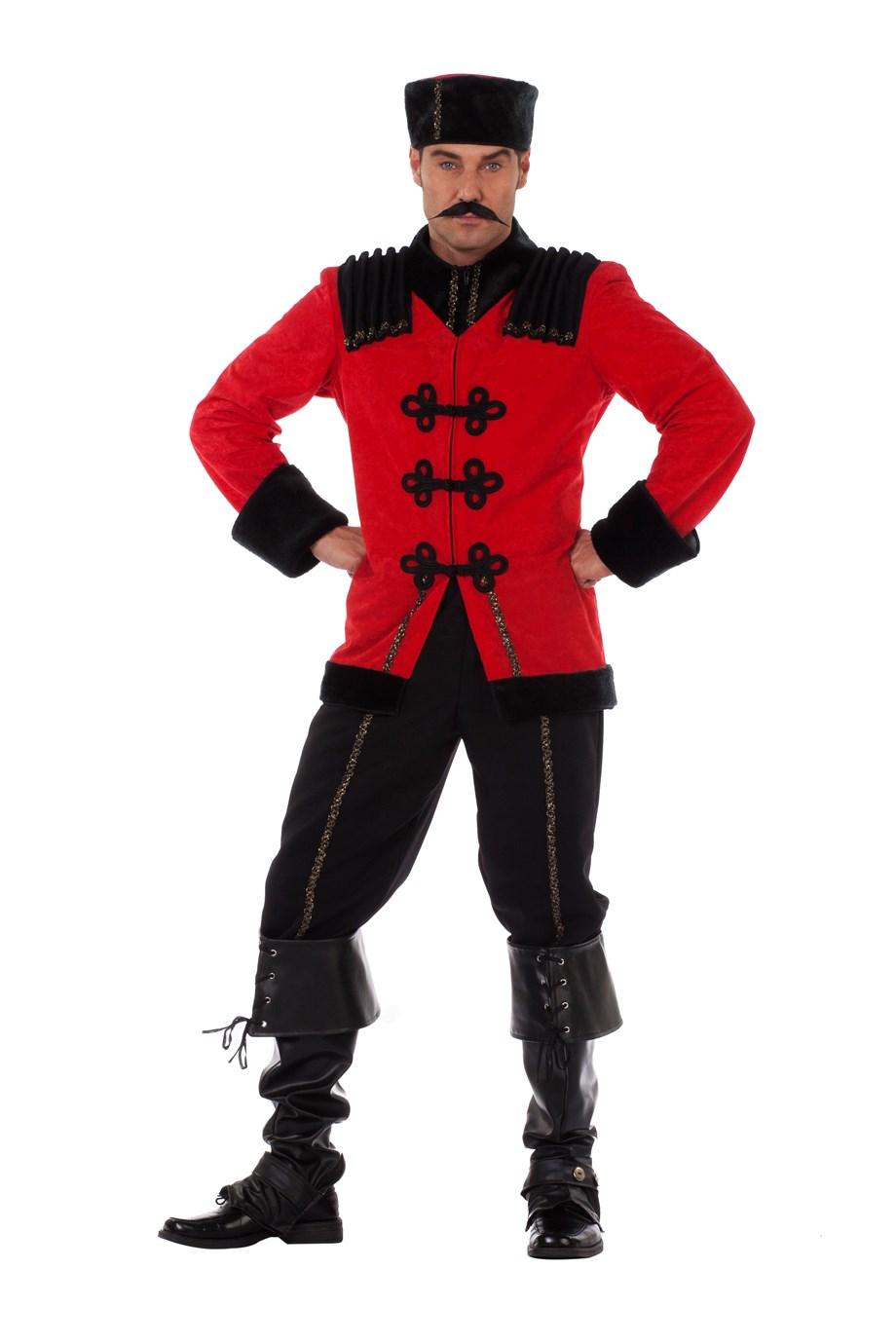 Kozak kostuum de luxe voor heer