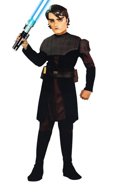 Anakin Skywalker zwart (licentie) 3-4 jaar