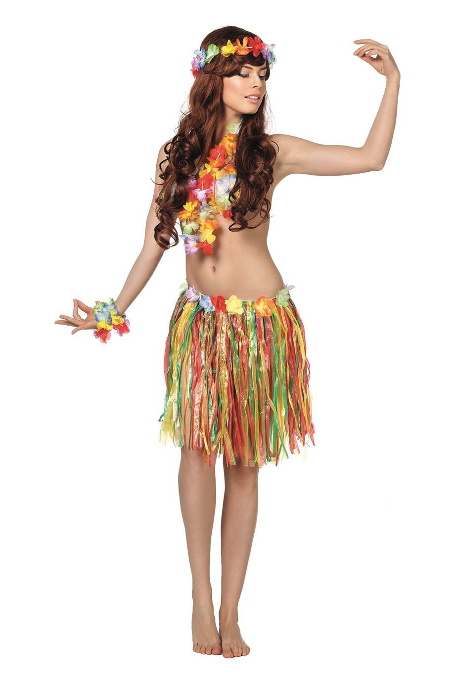 Hawai set (korte rok)