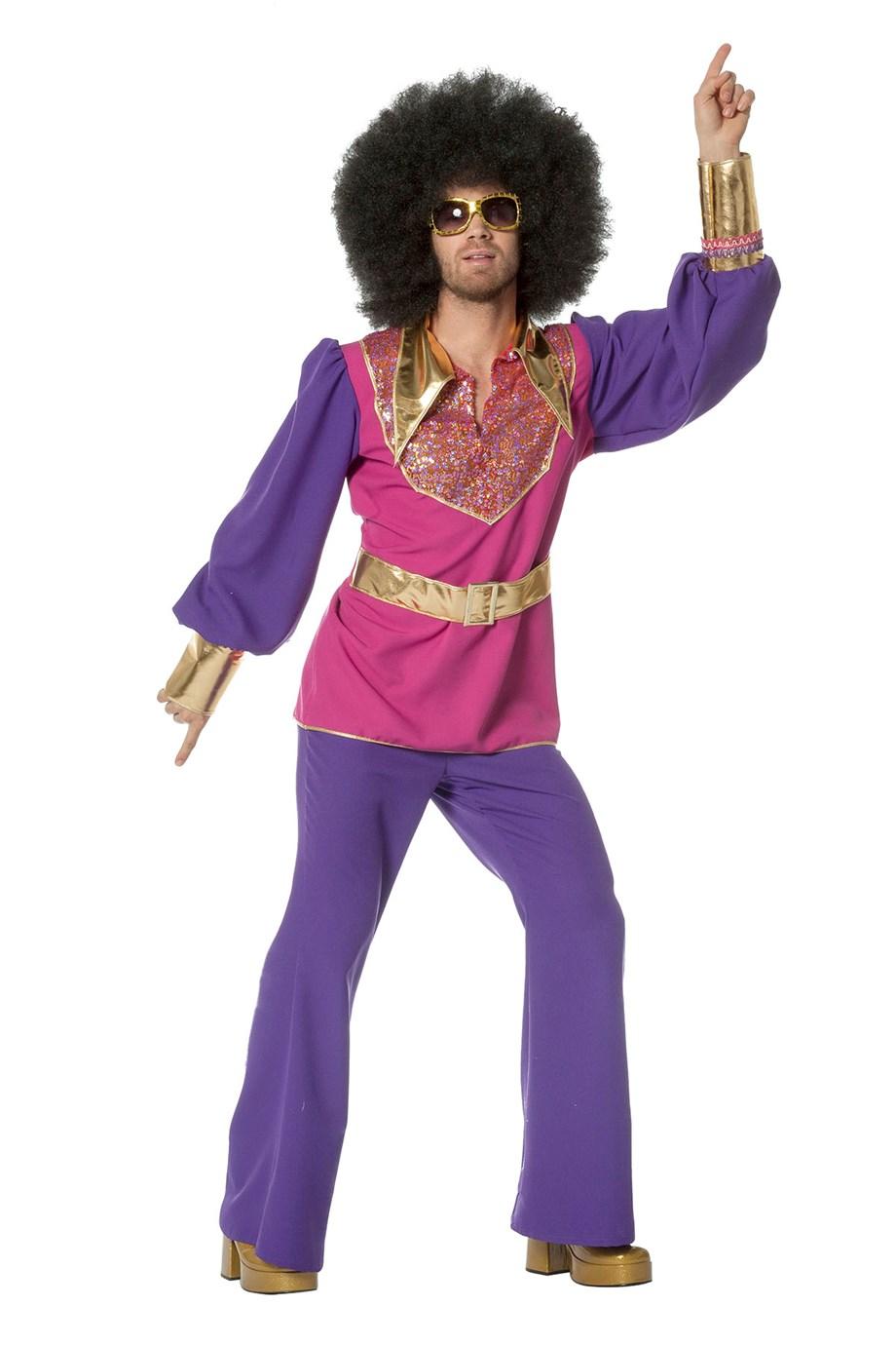 Disco King kostuum voor heer