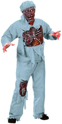 Zombie dokter one size