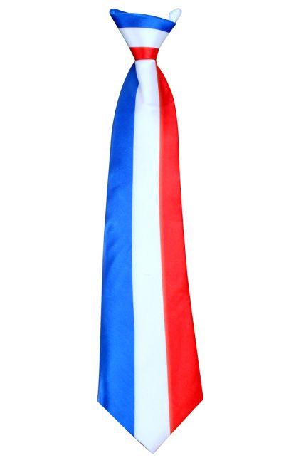Stropdas satijn Frankrijk