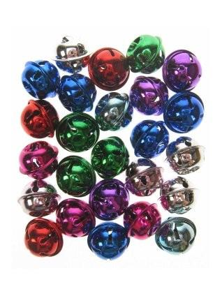 Belletje per stuk in diverse metallic kleuren 25mm