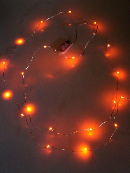 Ledverlichting snoer oranje