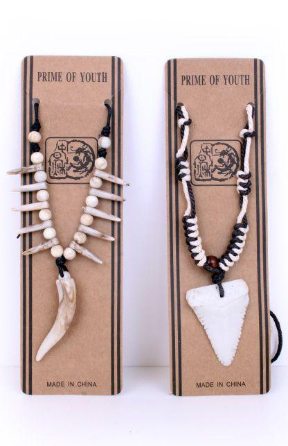 Indianenkoord met tanden per stuk