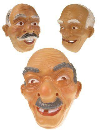 Masker plastic opa wordt per stuk en per model geleverd