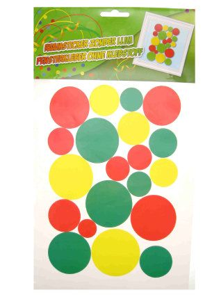Adhesive (raamsticker) confetti snippers 35x50cm