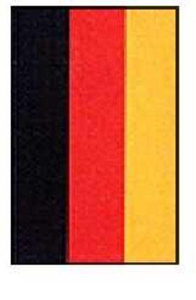 Vlag duitsland zonder ringen 90x150cm