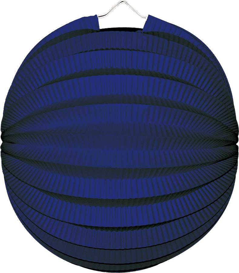 Lampion rond blauw