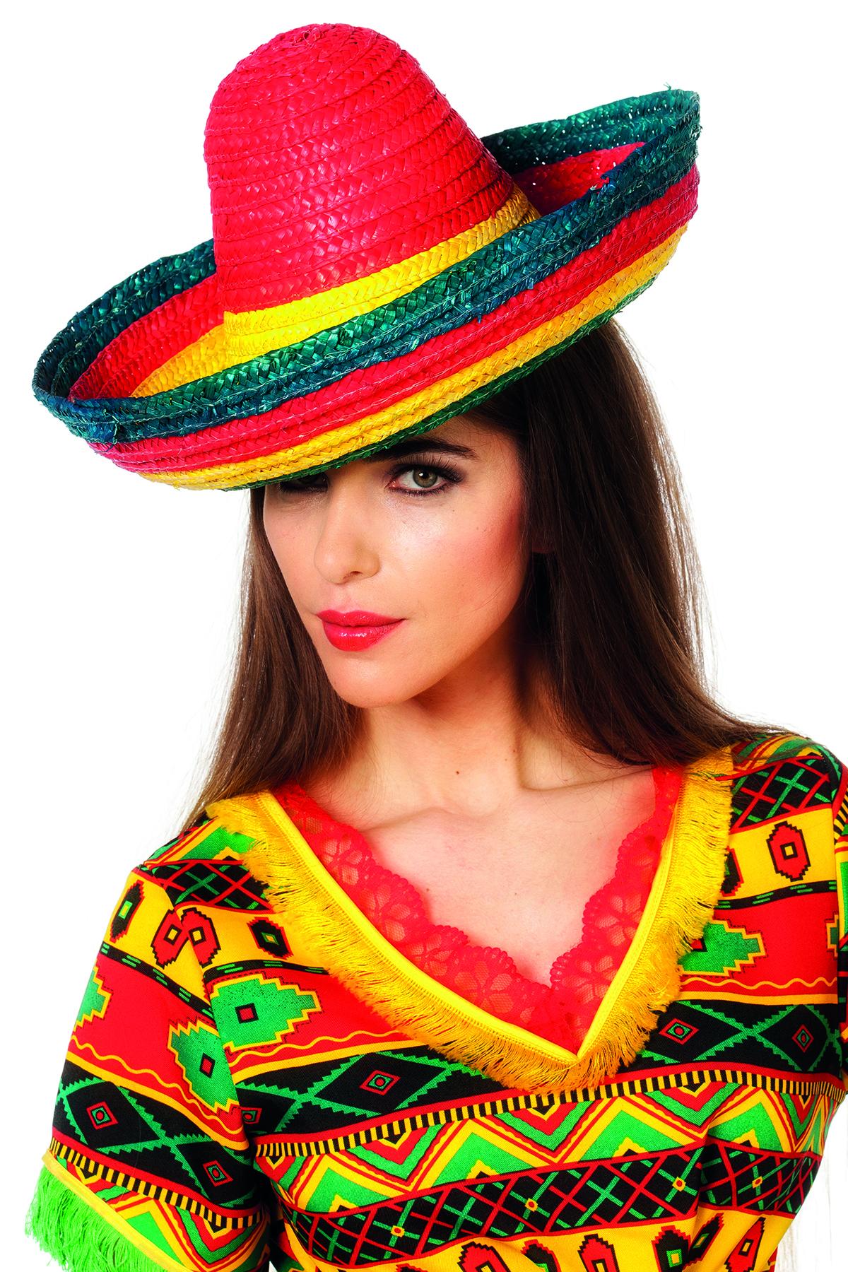 Sombrero gestreept Multi