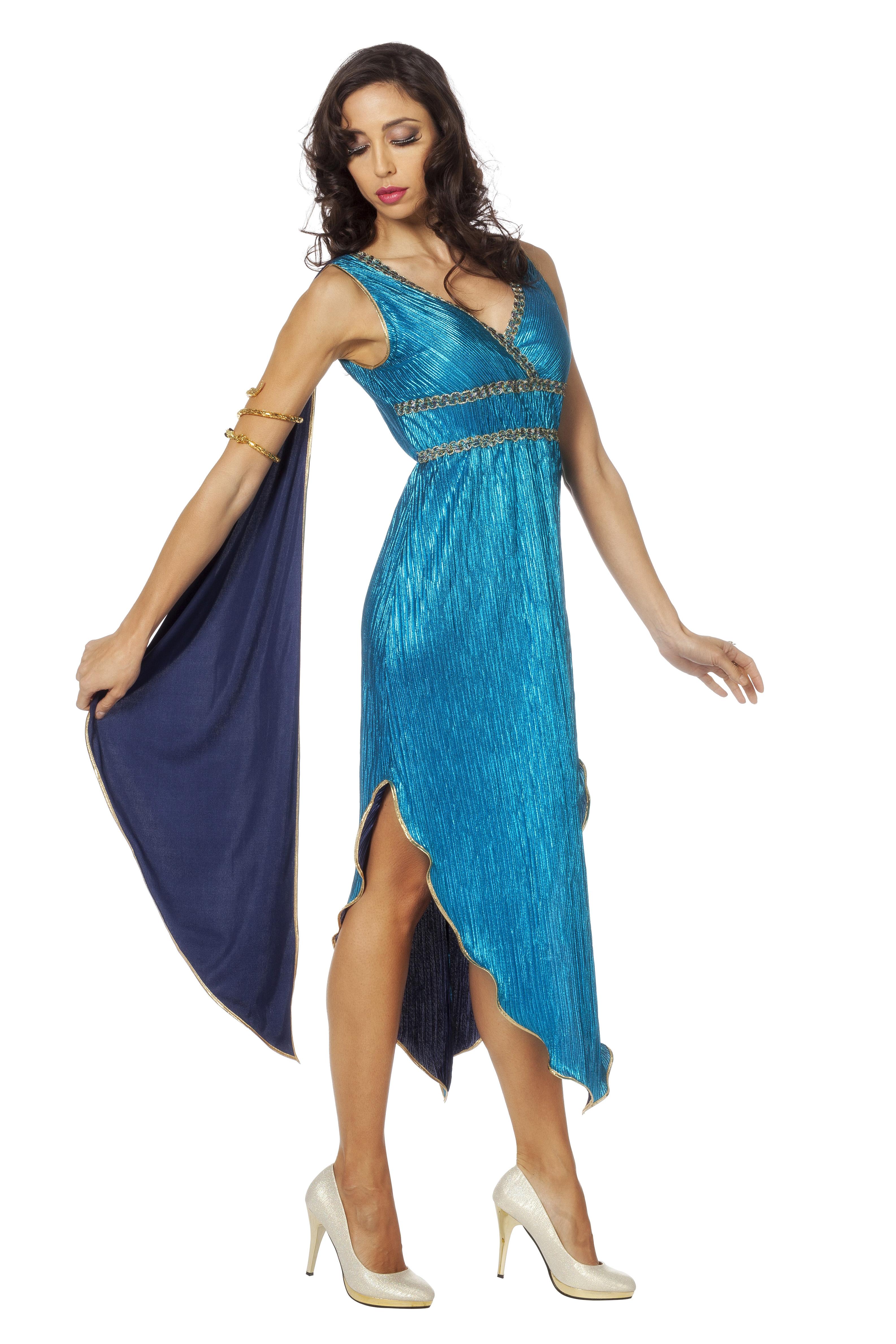 Griekse godin blauw