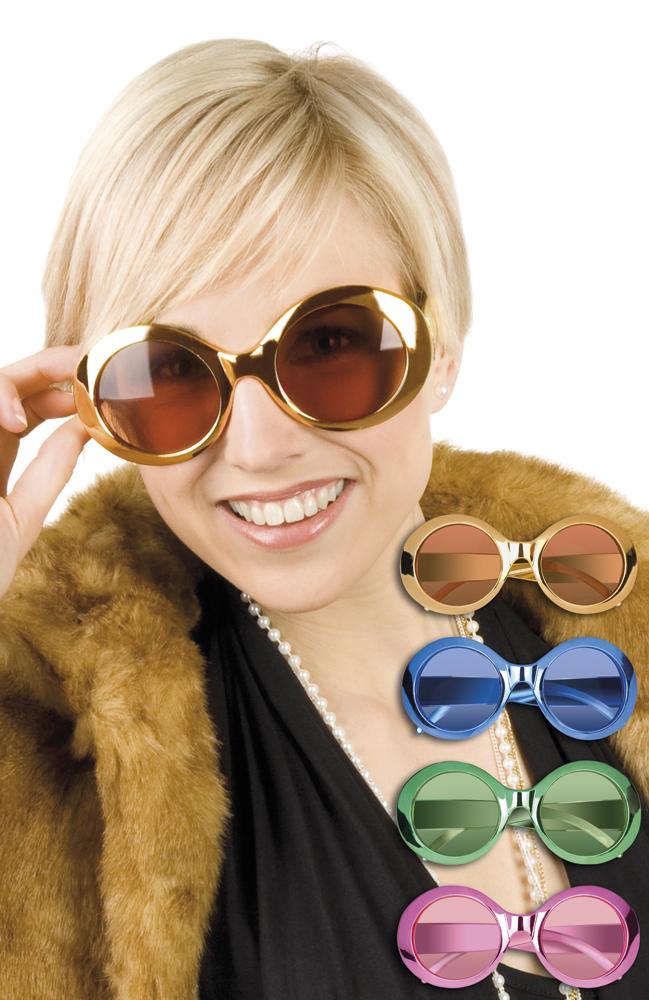 Partybril Jackie shine wordt per stuk en per kleur geleverd