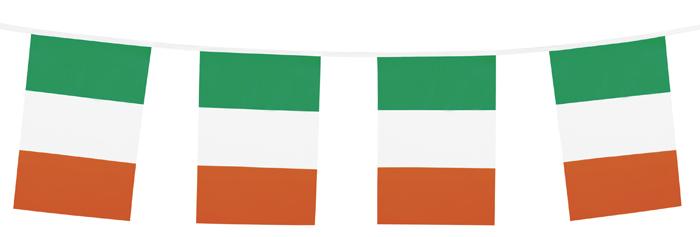 PE vlaggenlijn Ierland (10 m)