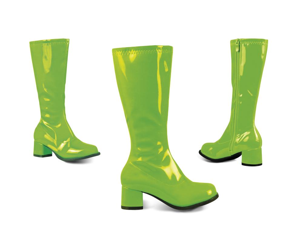 Laarzen Retro kids neon groen