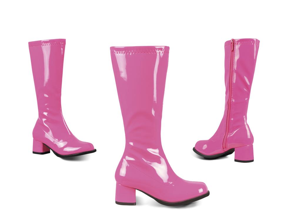 Laarzen Retro kids neon roze