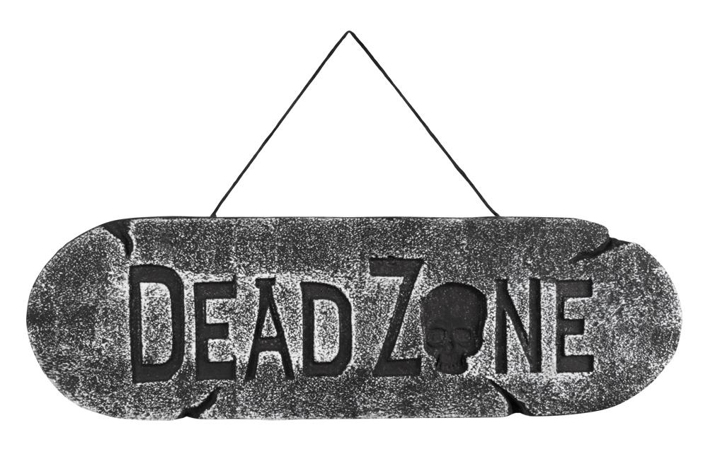 Wegwijzer Dead Zone (15 x 48 cm)