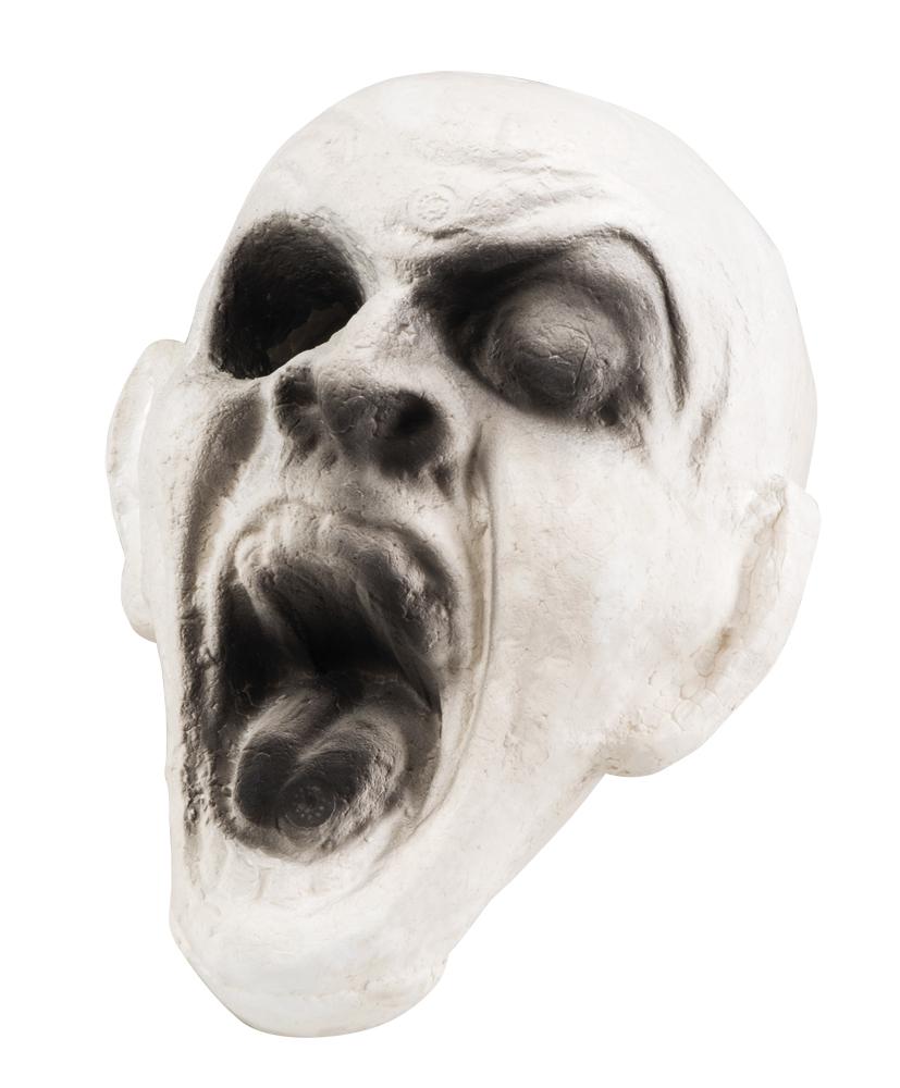 Zombie hoofd (17 x 14 cm)