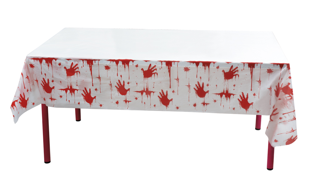 PE tafelkleed Bloody (135 x 275 cm)