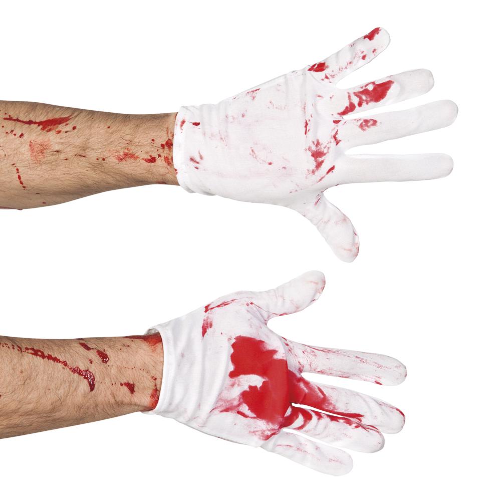 Hand schoenen pols Bloody