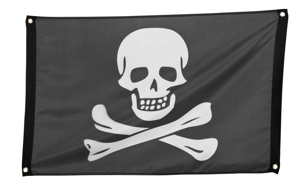 Vlag Piraat doodshoofd (60 x 90 cm)