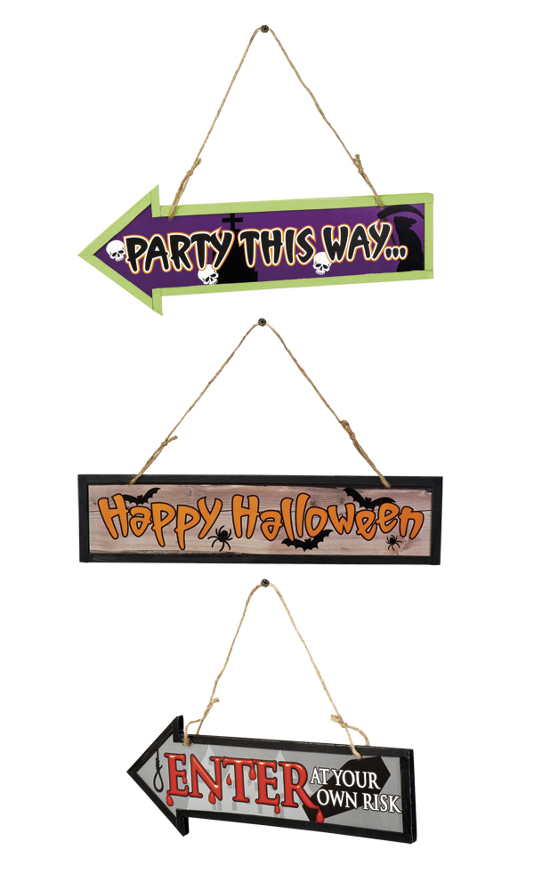 Wegwijzer Halloween per stuk