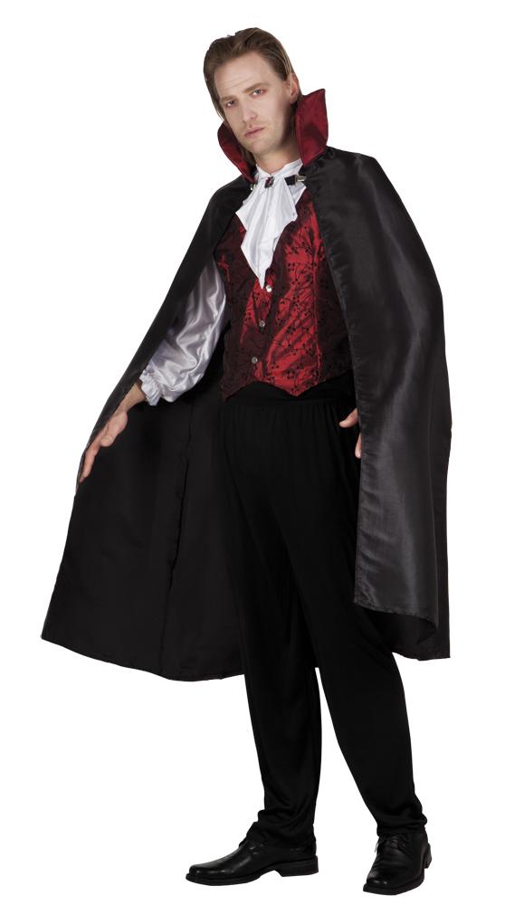 Gothic vampire halloween kostuum voor heer