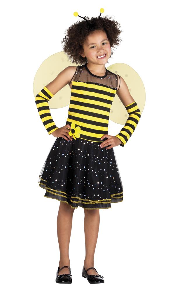 Bee-bee bijen jurkje voor meisje