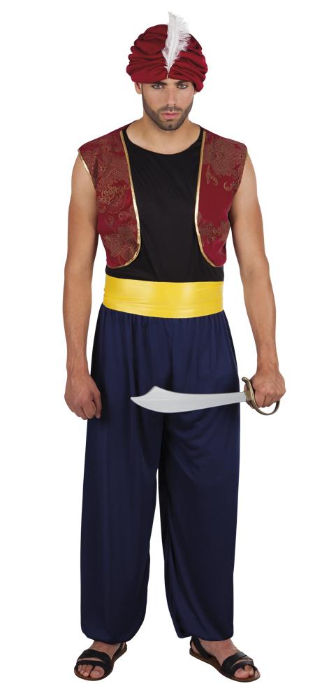 Aziz sultan kostuum voor heer (M/L)