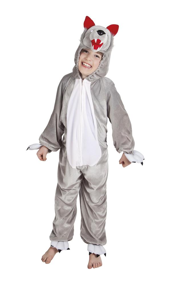 Wolf pluche pak voor kind