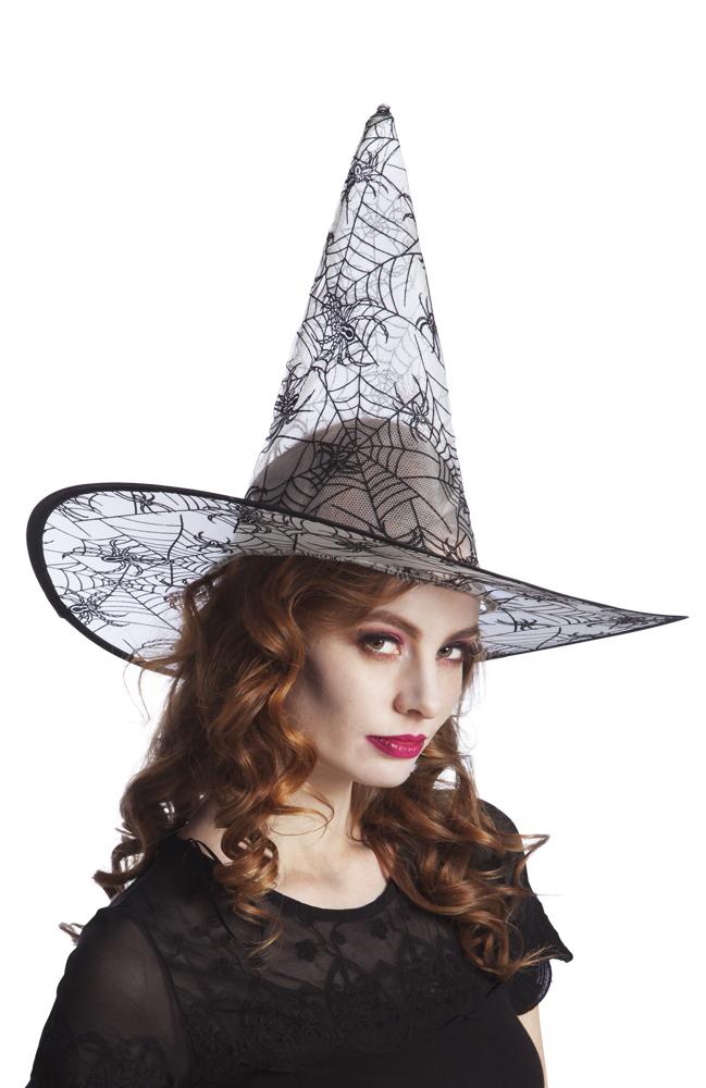 Heksenhoed witch Cobwebby grijs