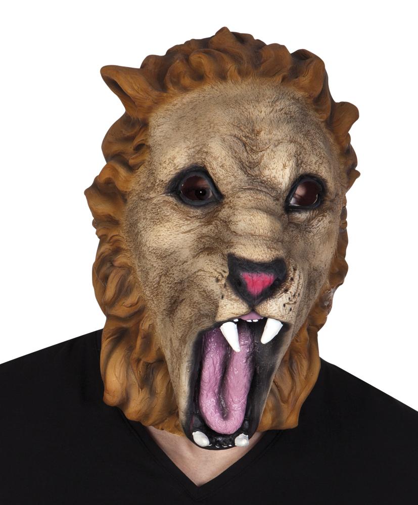 Latex masker leeuw