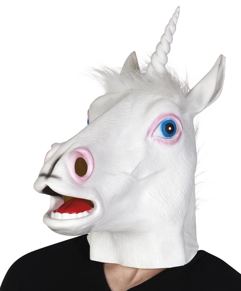 Latex masker eenhoorn