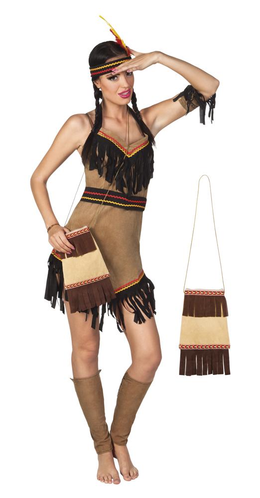 Indianen hand tasje (31 cm)