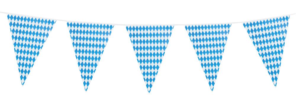 PE reuzen vlaggenlijn Bavaria dubbelzijdig (8 m)