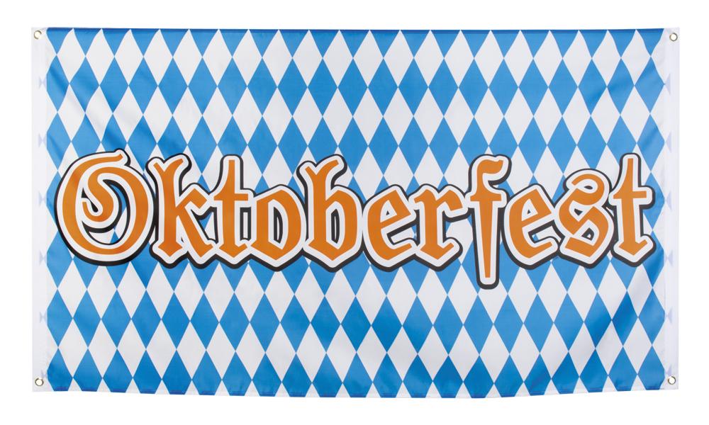 Polyester vlag Oktoberfest (90 x 150 cm)