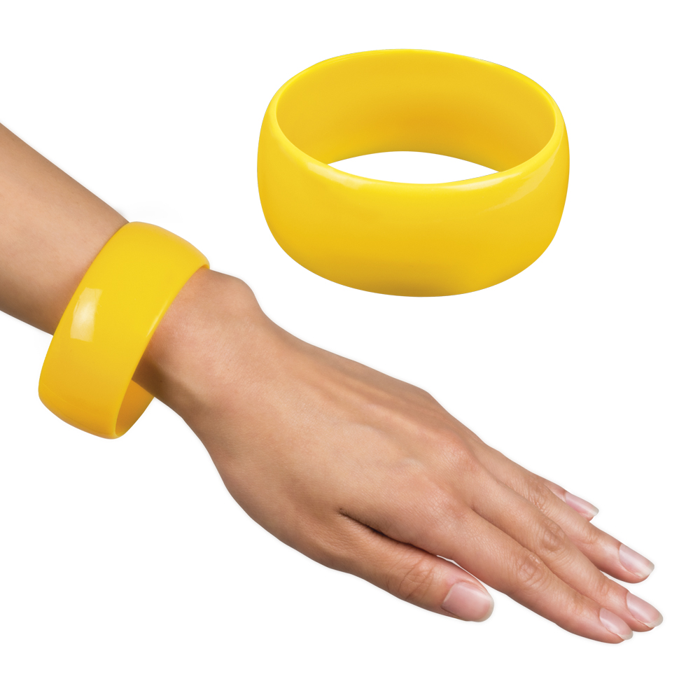 Armband Retro geel