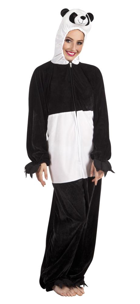 Panda pluche pak voor volwassenen