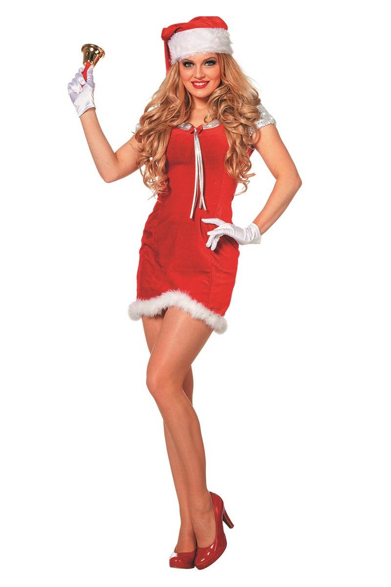 Kerstjurk Jingle Bells voor dame