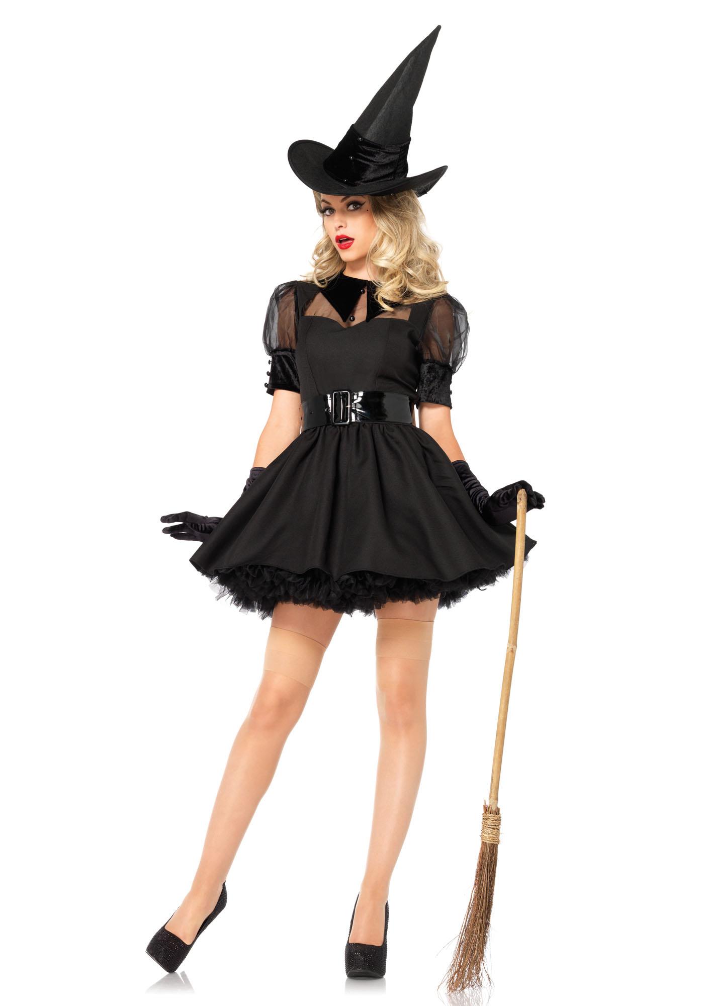 Bewitching Witch Zwart