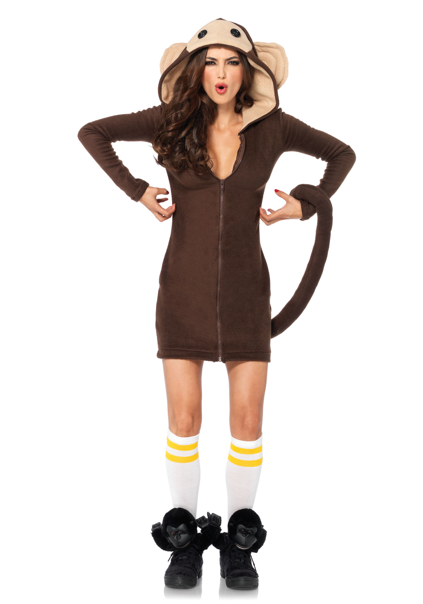 Cozy Monkey Bruin