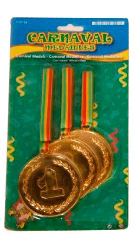 Medailles Mega sizeCarnaval